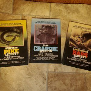 In-Fisherman Handbook of Fishing Strategies Books